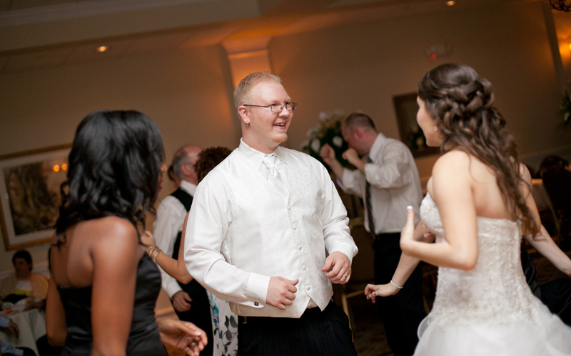 People Dancing at Reception