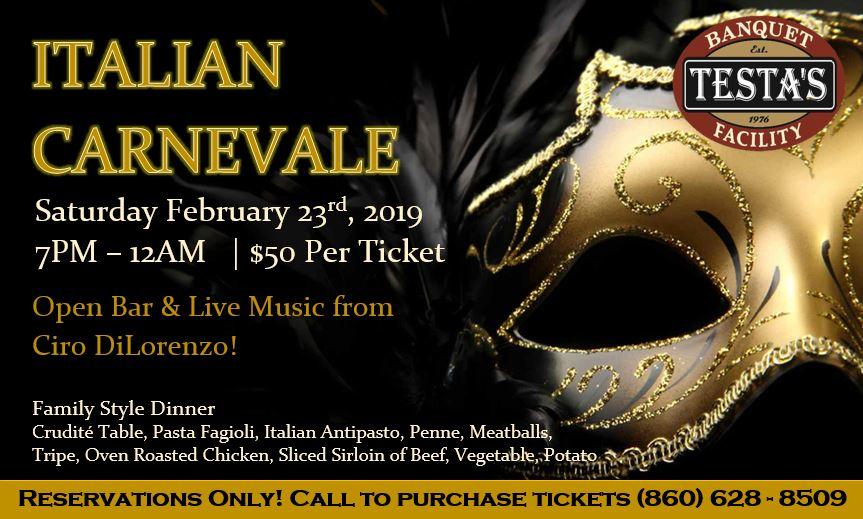 Italian Carnevale 2019