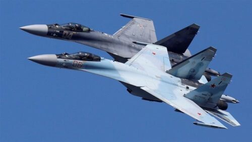 The U.S. military says that Russia sent fighter jets to assist mercenaries in Libya. (Photo from Reuters)