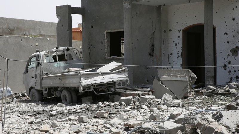 Libya Wreckage