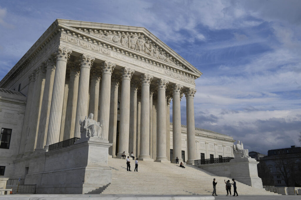 Ginsburg's passing has drawn focus on the future of the court, with President Trump vowing to announce a nominee to fill the vacancy on Saturday. (Photo from AP)
