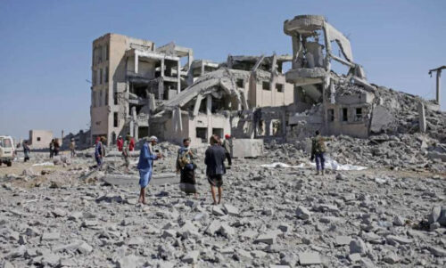 The ongoing conflict in Yemen has ravaged the country and resulted in the world's worst humanitarian crisis, according to the United Nations. (Photo from AP)
