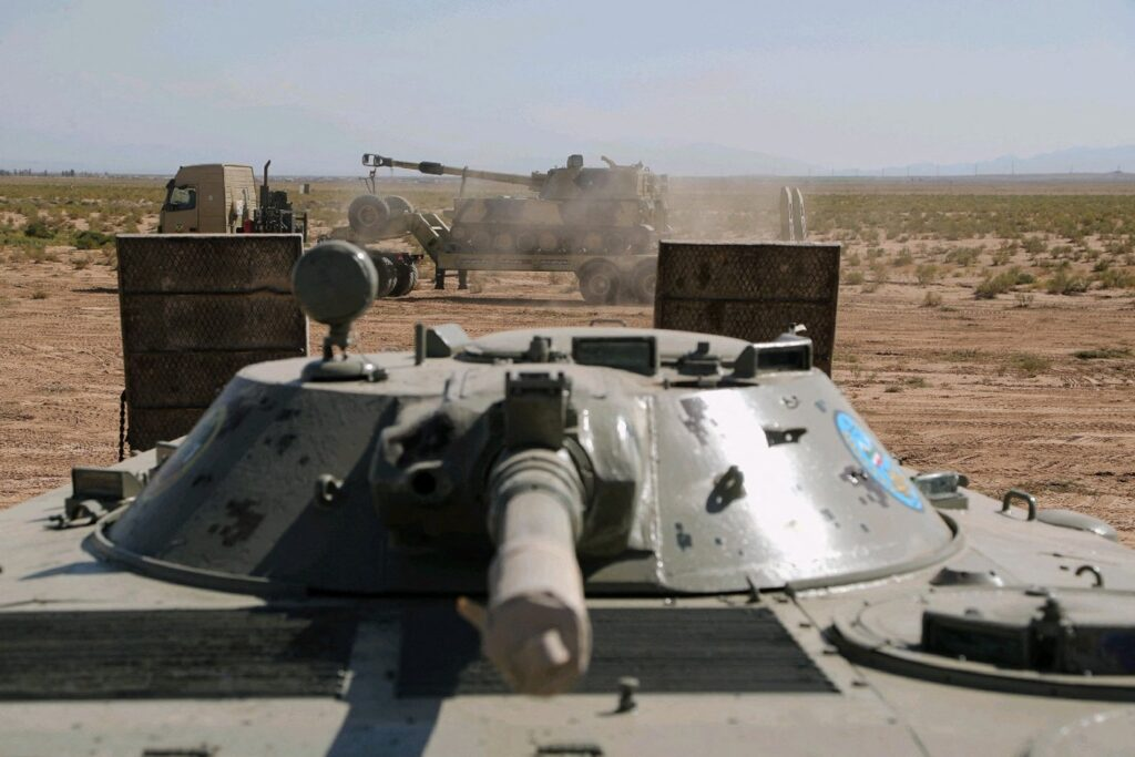 The presence of Israeli military bases in Azerbaijan and weapons support have heightened tensions between Iran and its Caucasus neighbor. (Photo from AFP)