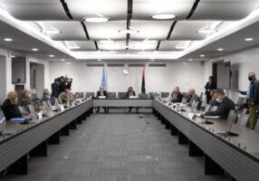 Libya's warring parties have agreed on the terms for a permanent ceasefire. (Photo from AFP)