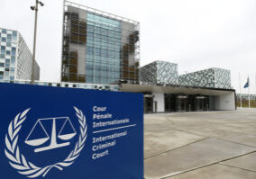The International Criminal Court's decision was praised by human rights organizations and activists. (Photo from Reuters)