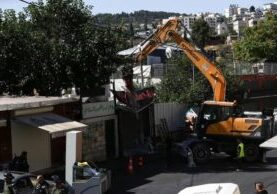 Activists have condemned the behavior, which seeks to forcibly expel Palestinians from their generational homes and businesses. (Photo from Getty Images)