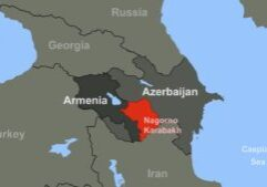 The hope is that the peace deal in Nagorno-Karabakh will put an end to months of renewed clashes in the region. (Photo from Getty Images)