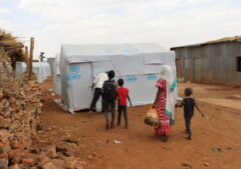 The conflict in Tigray has had a devastating impact on refugees in the region. (Photo from UNHCR)