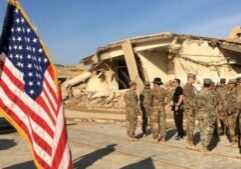 American forces are withdrawing from three bases in Iraq. (Photo from BBC)