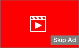 انواع اعلانات اليوتيوب القابلة للتخطى