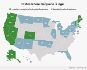 states legalized map 2018