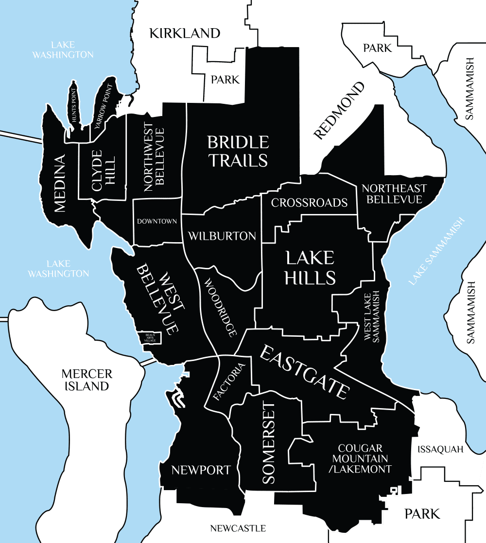 BELLEVUE---Map