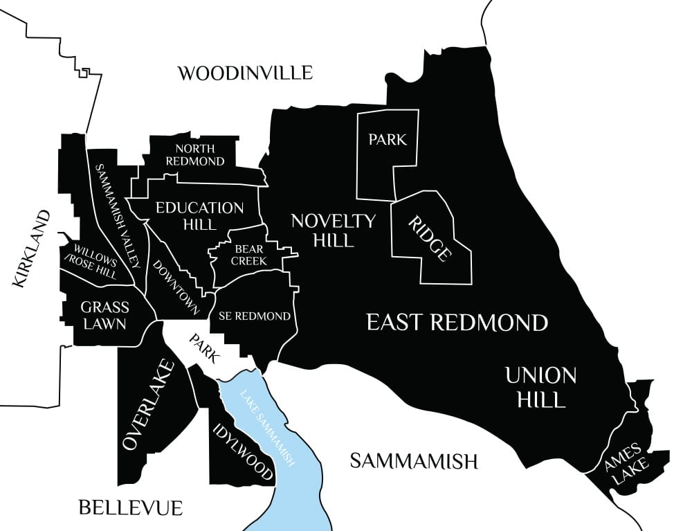 REDMOND---Map