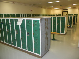 Mounds View High School - Old Lockers not Heavy Duty Ventilated and too many small box lockers. The Locker Guy will remove and haul away the existing lockers and install new using our own staff of expert installers.
