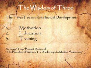 The Wisdom of Three Intellectual Development
