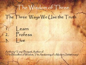 The Wisdom of Three Uses of Truth