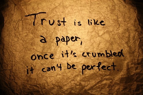 Trust Is More Than The Facts