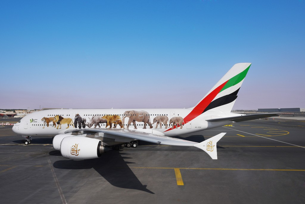 Emirates' United for Wildlife A380s take its message against the illegal wildlife trade to the skies, traversing over 4.2 million kilometres across 5 continents in the past 6 months.