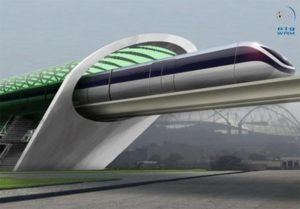 Hyperloop Transportation. Photo Credit: WAM