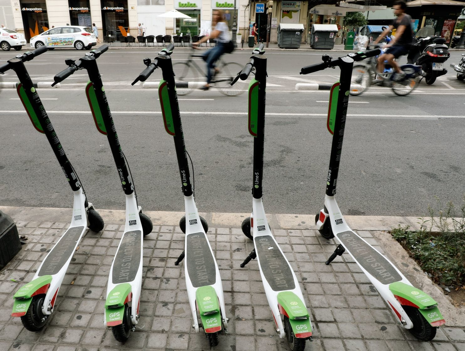 Lime Scooters