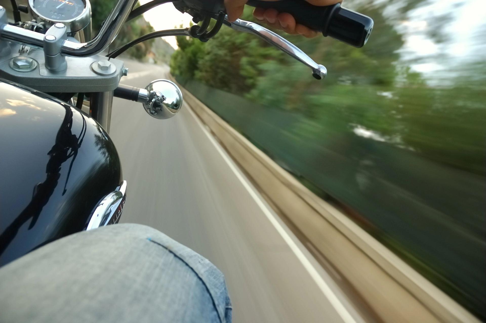 Los accidentes de motocicleta son más comunes de lo que piensa