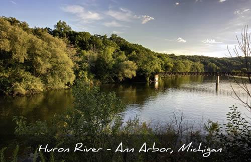 Huron River - Ann Arbor, Michigan