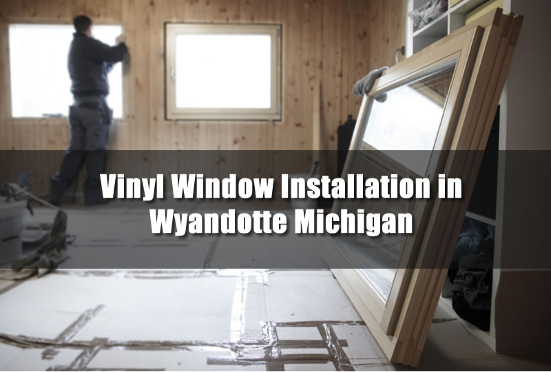 Installing Vinyl Windows in Michigan
