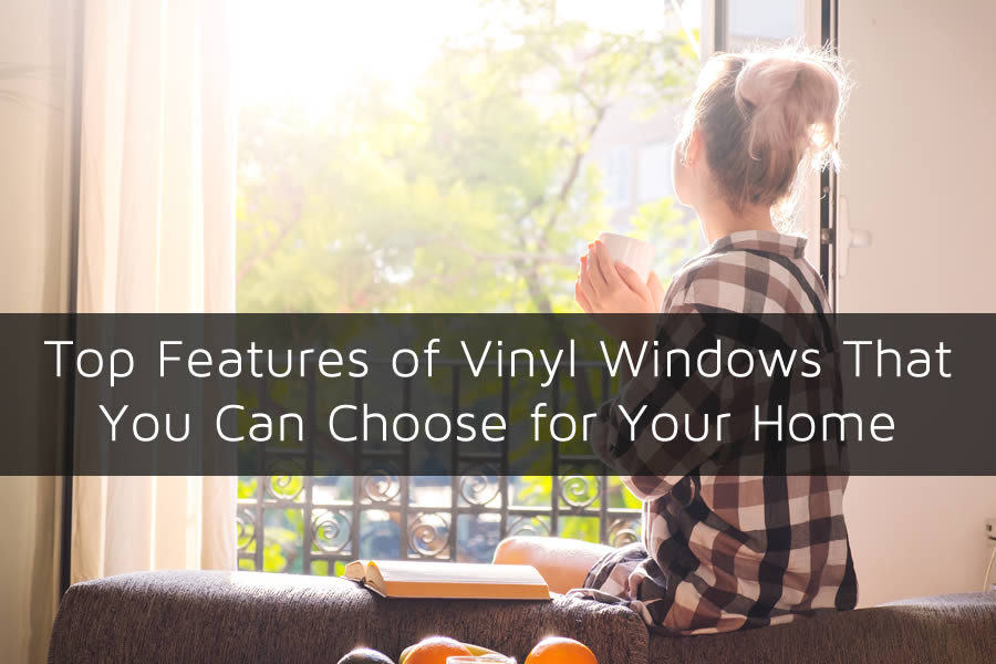 Top Features of Vinyl Windows That You Can Choose for Your Home