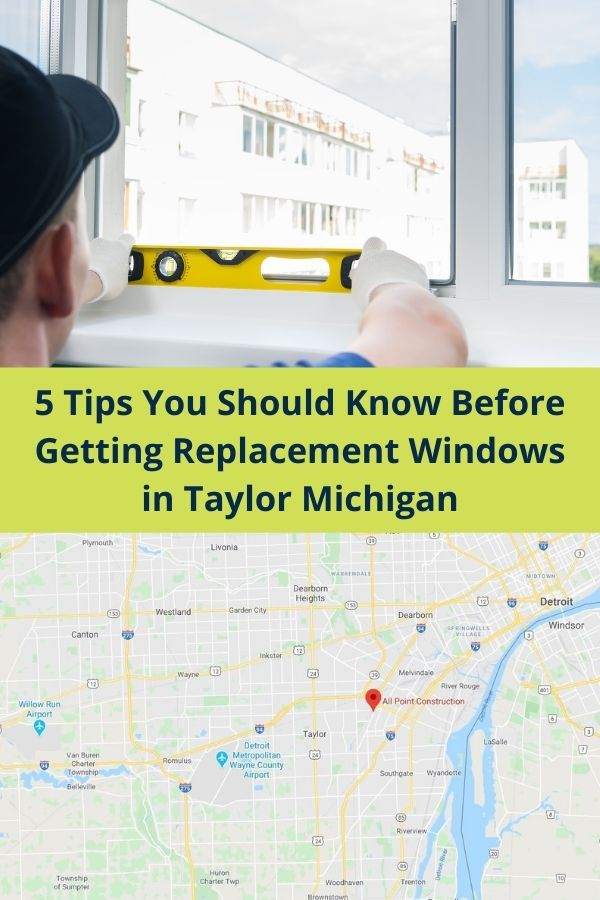 Vinyl Replacement Windows in Taylor Mi