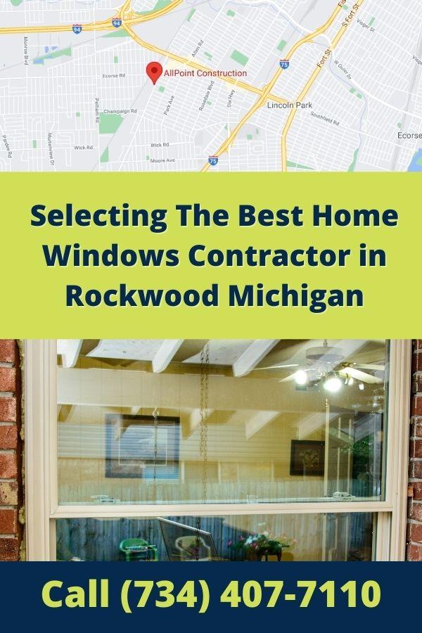 Replacement Windows Rockwood MI