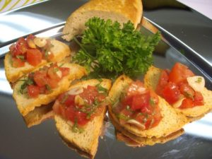 Crostini from Gluten Free Things