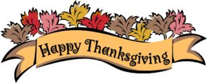 Celebrate a safe and happy Gluten Free Thanksgiving Holiday!