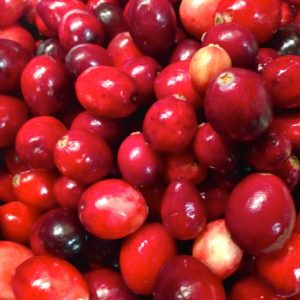Cranberries is fresh and available during the holiday season
