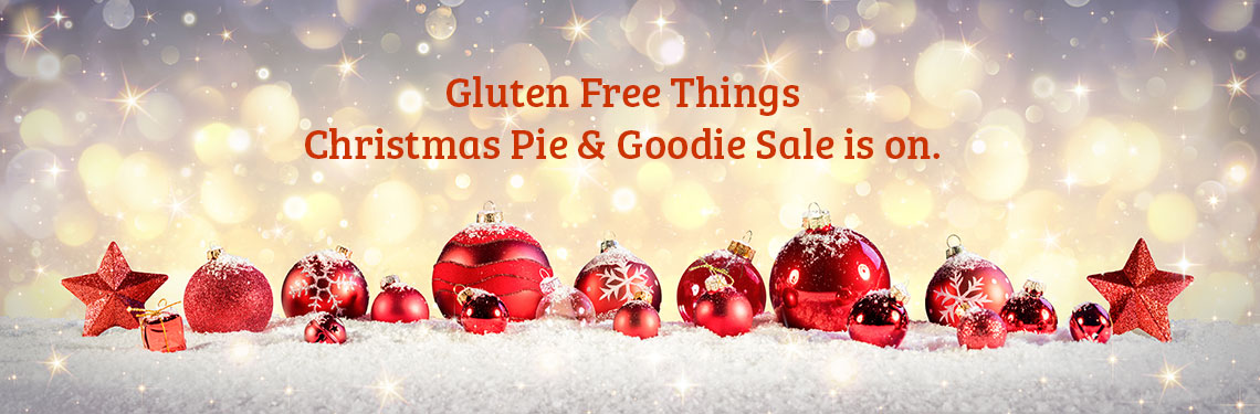 Gluten Free Things Christmas Pies
