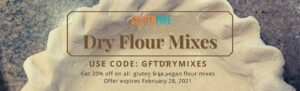 Coupon Code for All Dry Flour Mixes