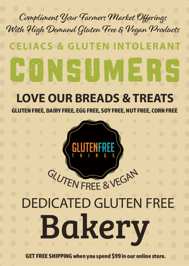 Add Gluten Free to your Farmers Market