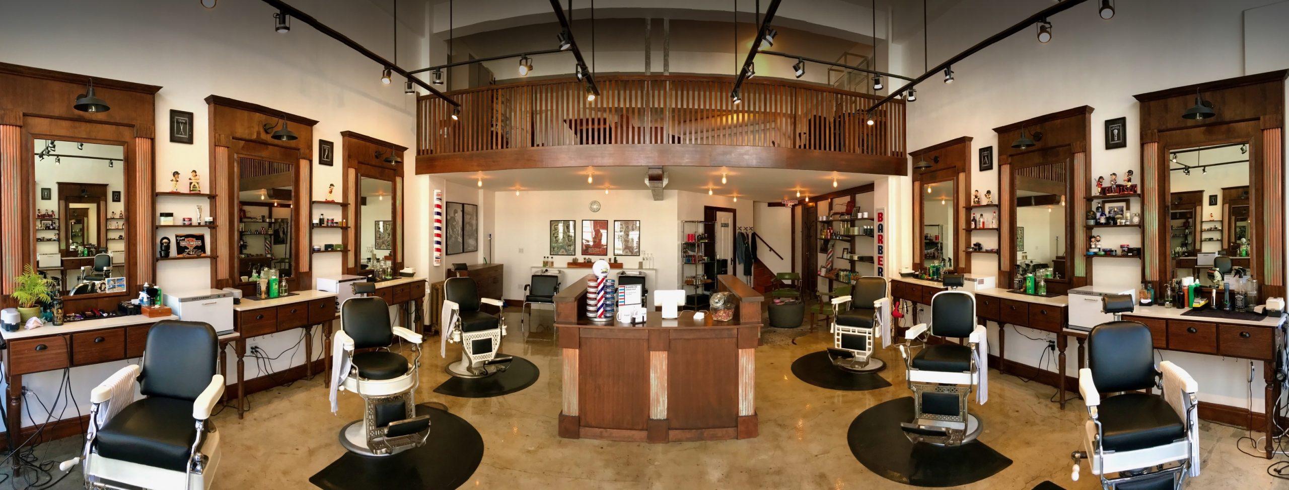 Blades Co. barber shop San Francisco