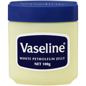 A tip for using Vaseline Jelly by my Etsy colleague Aardvark Reinvigorated