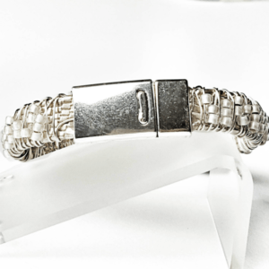 Champagne Stack Bracelet Back Clasp