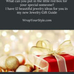 Beautiful jewelry gift ideas for Christmas.