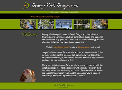 Druery Web Design 2007-2011