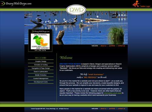 Druery Web Design 2011-2013