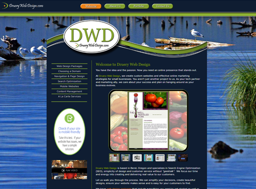 Druery Web Design 2013-2017