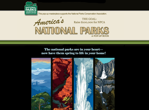 National Parks Pop-Up Book