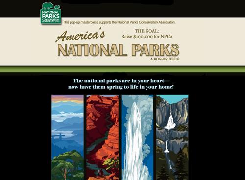 National Parks Pop-Up Book