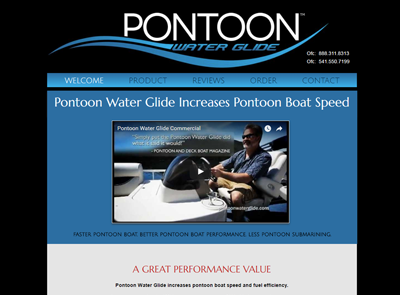 Pontoon Water Glide
