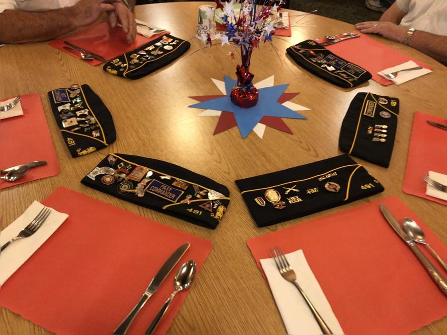 Veterans Dinner Nov 2018