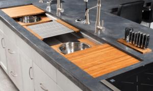 galley sink, luxury sink, kitchen design