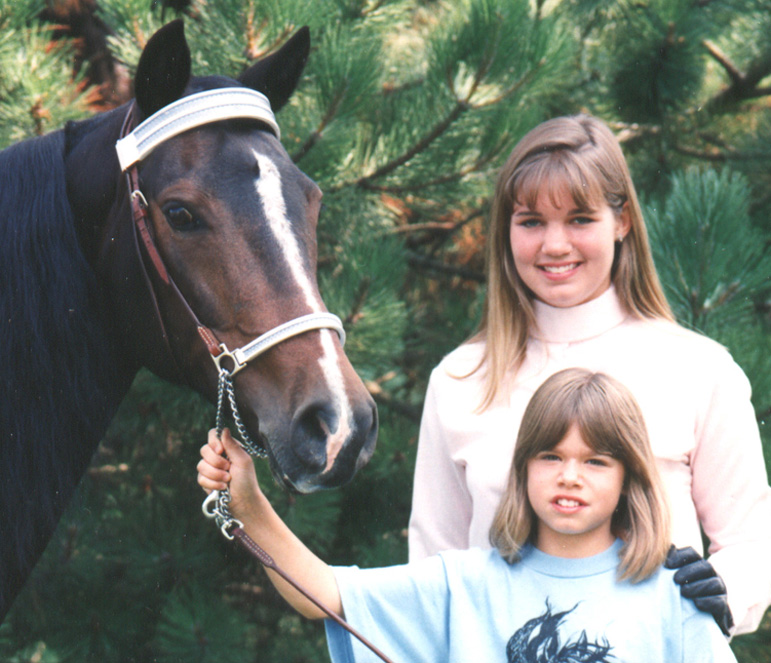 Riding Instructor with student and horse