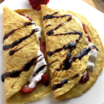 "Sweet or Savoury Flourless ""Crepes"""